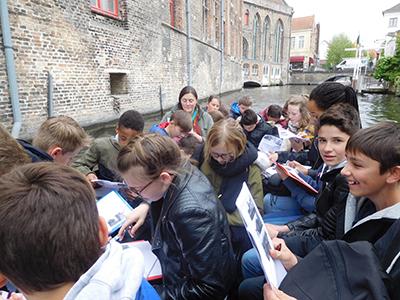 Les 5èmes à Bruges