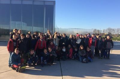 Les 6èmes au Louvre-Lens